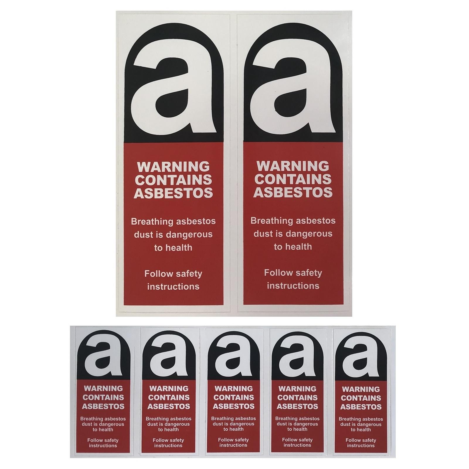 11 Warning Signage Product List Asbestos Removal Products
