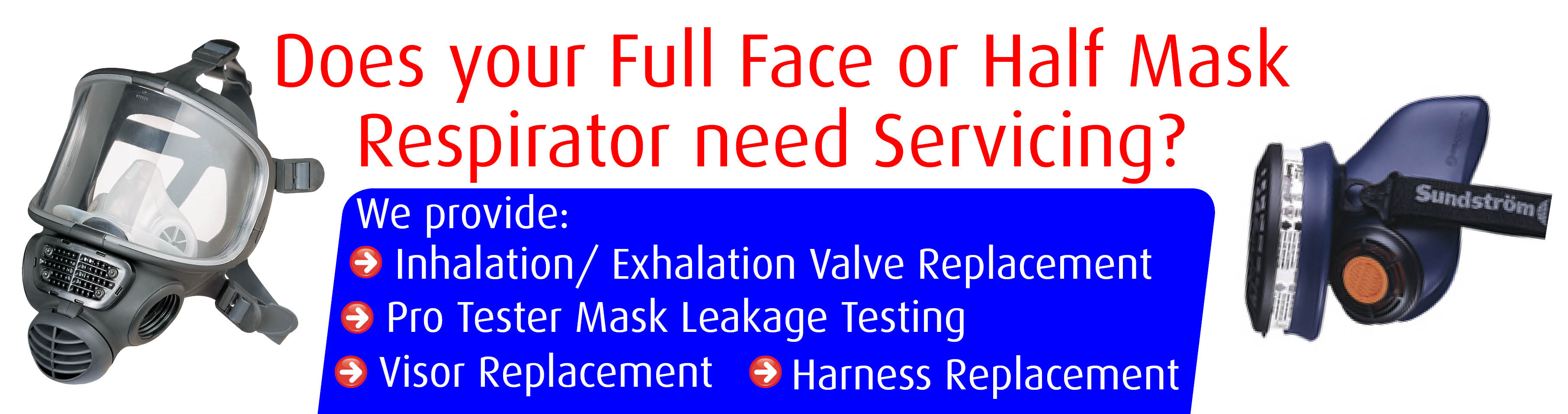 Equipment servicing and testing asbestos removal products respirator fit testing equipment servicing 1betcityfo Choice Image