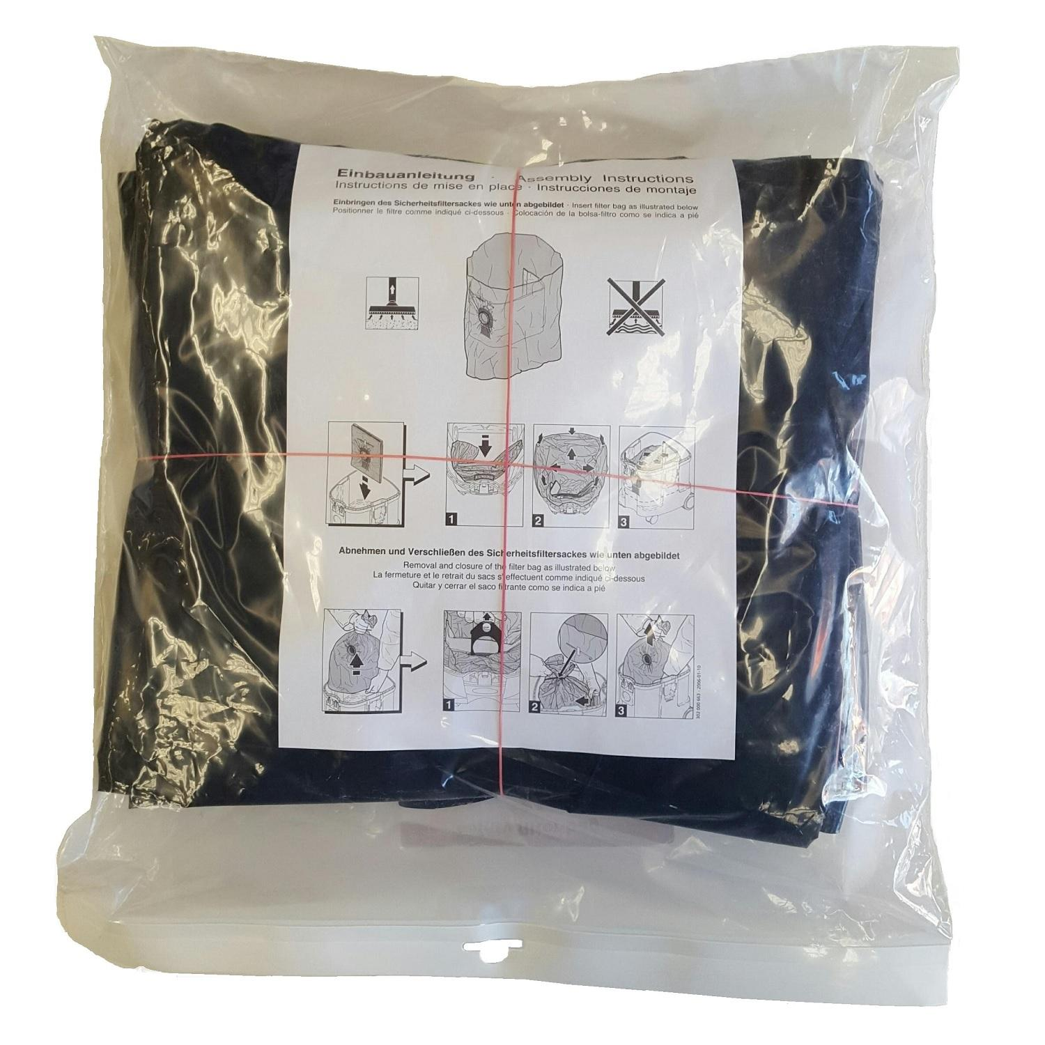 Nilfisk Genuine IVB3 Safety Bag/Liner