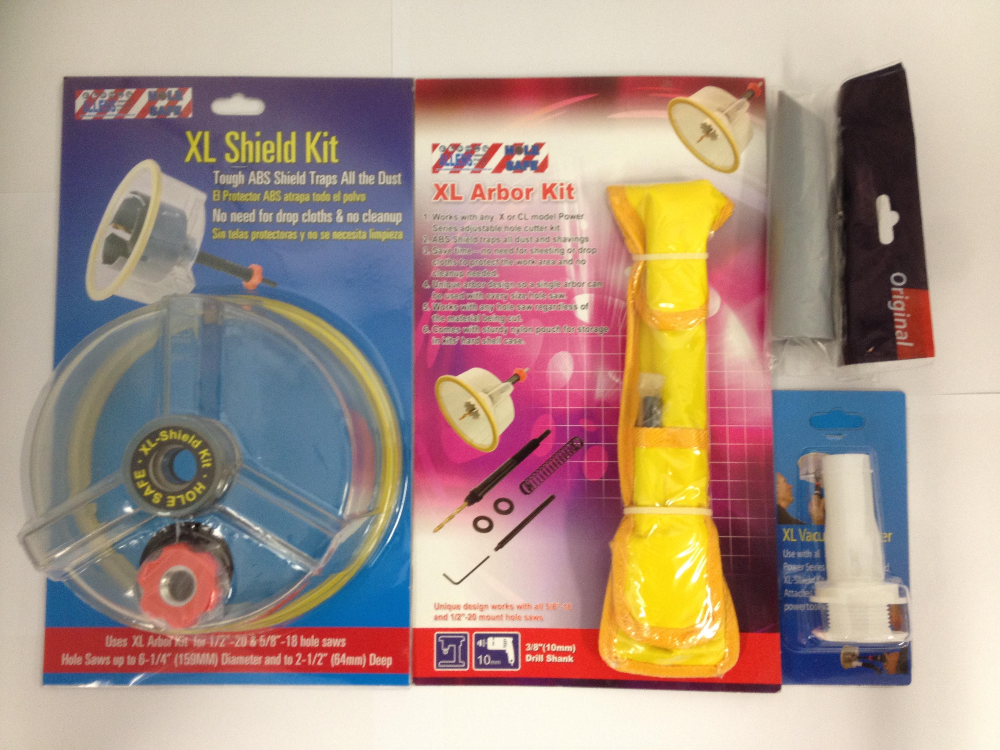 Holesafe Vacuum Suction Hole Saw Kit 03 Vacuum