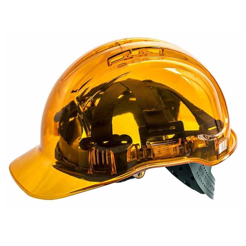 Force 360 Clearview Hard Hat Orange