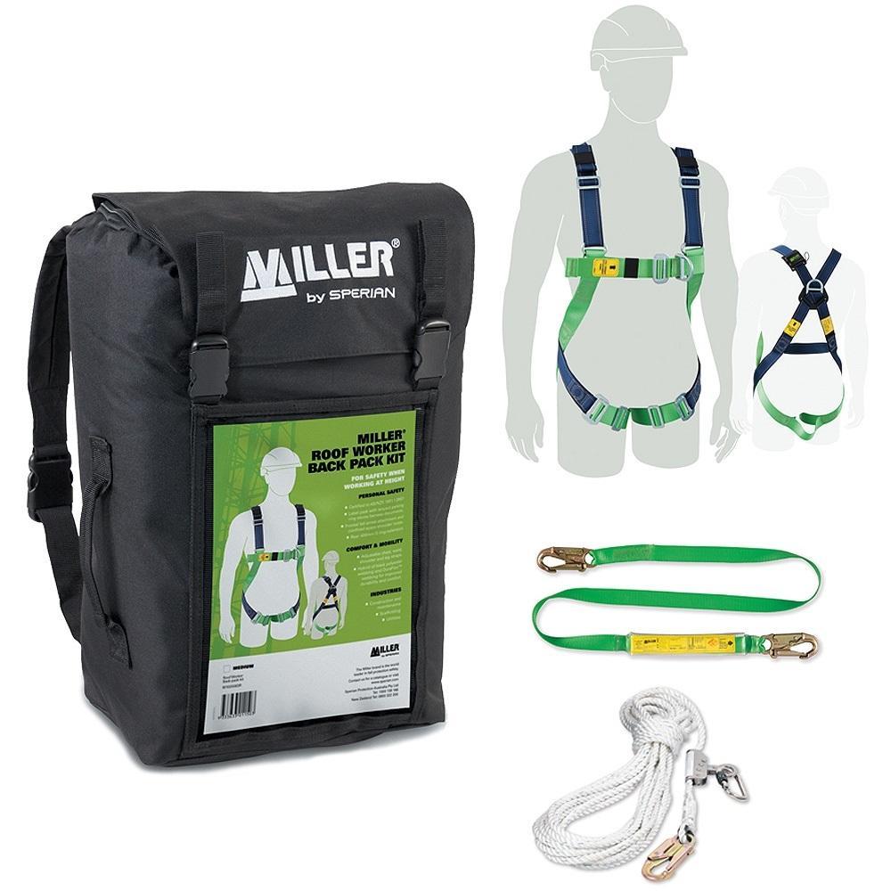 Miller Roof Worker Back Pack Kit