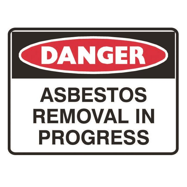 danger asbestos removal in progress sign 11 warning signage asbestos signs product detail. Black Bedroom Furniture Sets. Home Design Ideas