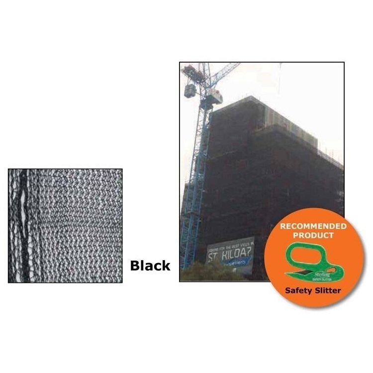 Scaffold Mesh Black (80gsm)