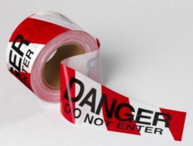 Barricade Tape Danger Do Not Enter