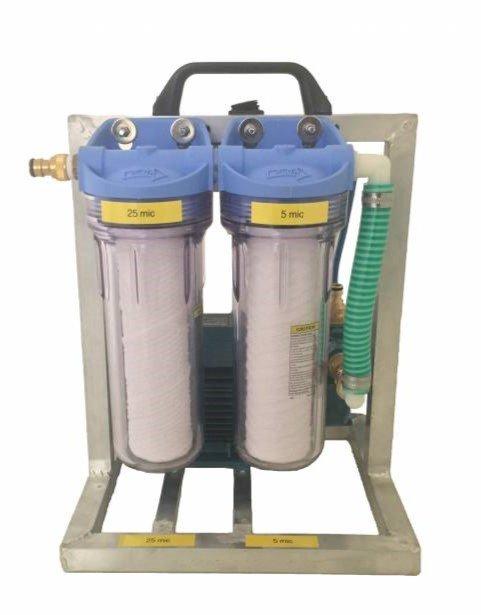Pump Filter System