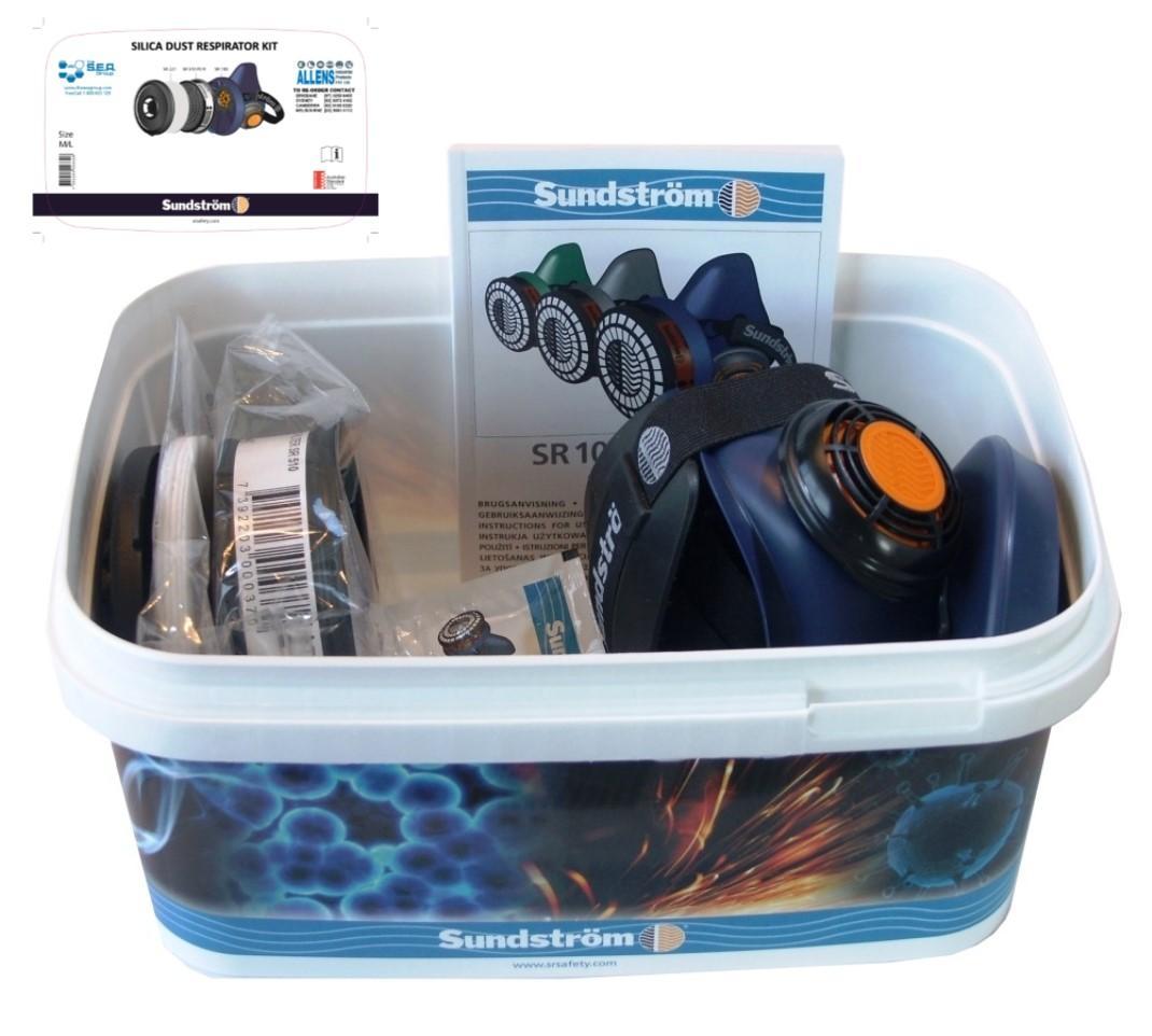Silica Dust Respirator Kit M/L