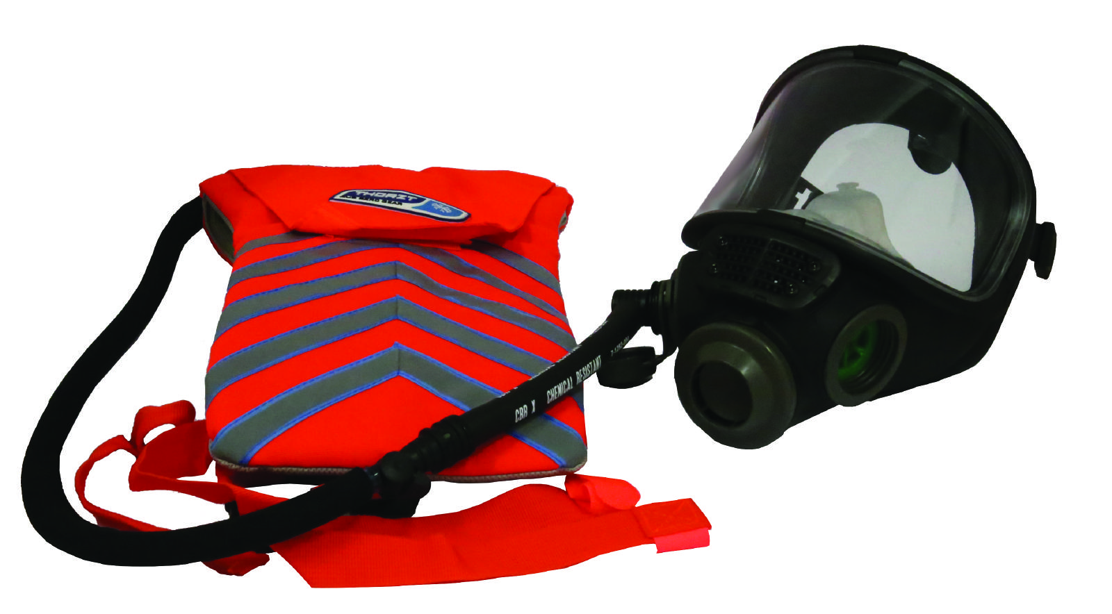 Scott M98 full face respirator with hydration insert
