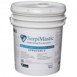 Serpi Mastic Sprayable Asbestos Encapsulant - Click for more info