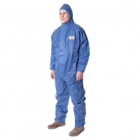 3M Type 5/6 Coverall Blue - Click for more info