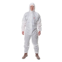 3M Type 5/6 Coveralls White - Click for more info