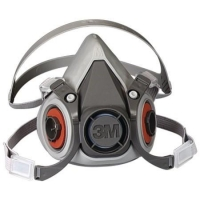 3M6000 SERIES - Half Facepiece Respirator - Click for more info
