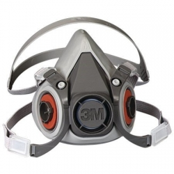 3M 6000 Series Respirator Med - Click for more info