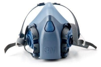 3M7500 SERIES - Premium Half Face Respirator - Click for more info
