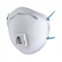 3M 8322 P2 Cupped Disposable 10 pack - Click for more info