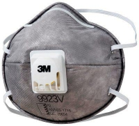 3M 9923V P2 with Organic Vapour - Click for more info