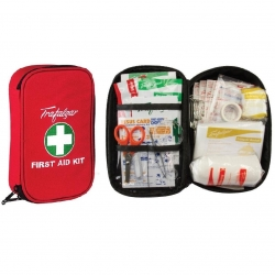 Travel First Aid Kit Red - Click for more info
