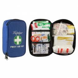 Travel First Aid Kit Blue - Click for more info