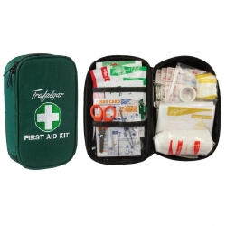Travel First Aid Kit - Green - Click for more info