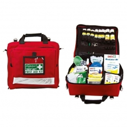 National Workplace Portable First Aid Kit w/Softcase - Click for more info