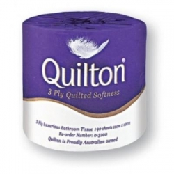 Quliton Premium 3ply 200Sheet Toilet Paper Roll - Click for more info
