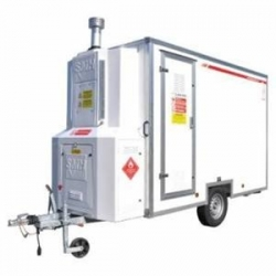 SMH DCU150 - 3 Stage Decontamination Trailer - Click for more info