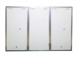 3 Stage Modular Decontamination Unit - Click for more info