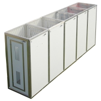 5 Stage Modular Decontamination Unit - Click for more info