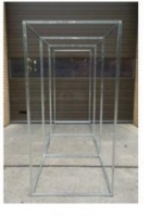 100cm Galvanised Airlock Cube - Click for more info