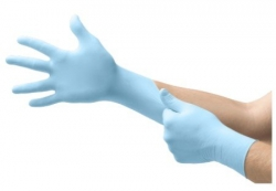 250pack Blue Nitrile Exam Glove Ansell - Click for more info