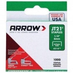 ARROW AR21424 - JT21 6mm Staples - Click for more info