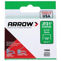 Arrow JT21 8mm Staples 1000 Pack - Click for more info