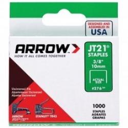 ARROW AR276 - JT21 10mm Staples - Click for more info