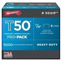 ARROW AR504IP - T50 6mm Staples - Click for more info