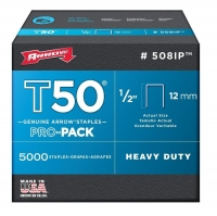 ARROW AR508IP - T50 12mm Staples - Click for more info