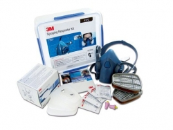 3M AT010623380 - Respirator Kit 7551 M (A1P2) - Click for more info