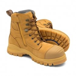 BLUNDSTONE 992 - Zip Sided Safety Boot - Click for more info
