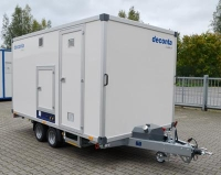 Deconta C5000E Decontamination Trailer - Click for more info
