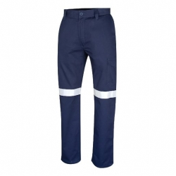 TRU WORKWEAR Midweight Drill Trouser with TRuVis Reflective Tape - Click for more info