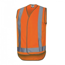 Force360 Orange Day & Night Safety Vest - Click for more info