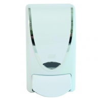 Deb White Chrome Border 1L Dispenser - Click for more info