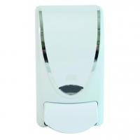 Deb White Chrome Border 1L Dispenser - Click for more info
