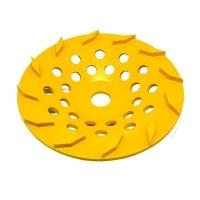 250mm Yellow 12 Segment Diamond wheel - Click for more info