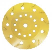 175mm Yellow 12 Segment Diamond Wheel - Click for more info