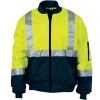 DNC HIVIS 2 TONE BOMBER JACKET WITH CSR R/TAPE - Click for more info