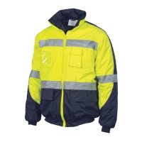 DNC HiVis D/N Contrast Bomber Jacket - Click for more info