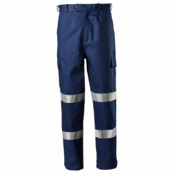 TRU WORKWEAR DT1142T2 - Heavy Weight Cotton Drill Cargo Trousers - Click for more info