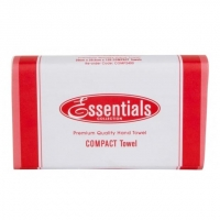 Essentials Hand Towel Compact 120 Sheet - Click for more info