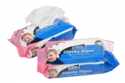 Edco Cheeky Wipes 80pk Refill - Click for more info