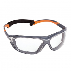 Force360 NeoGuard Clear Lens Safety Spectacle with Gasket - Click for more info